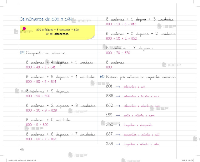 Caderno Do Futuro 3 Ano Matematica Pdf Gratis
