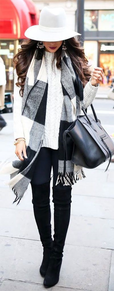 18 Latest Winter Street Fashion Ideas & Trends