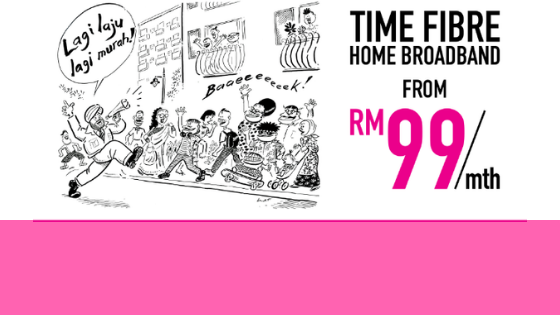 GIG SPEED BY TIME INTERNET – Malaysia fastest Fibre Home Broadband.