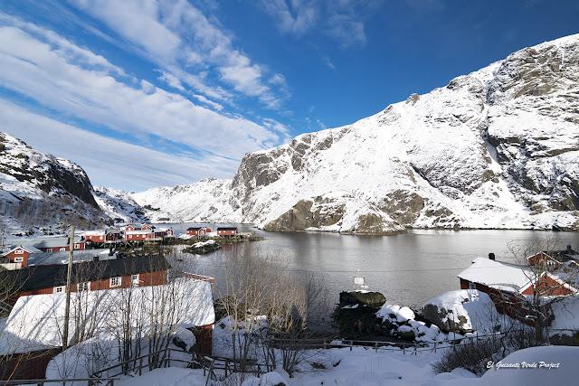 Nusfjord, Islas Lofoten por El Guisante Verde Project