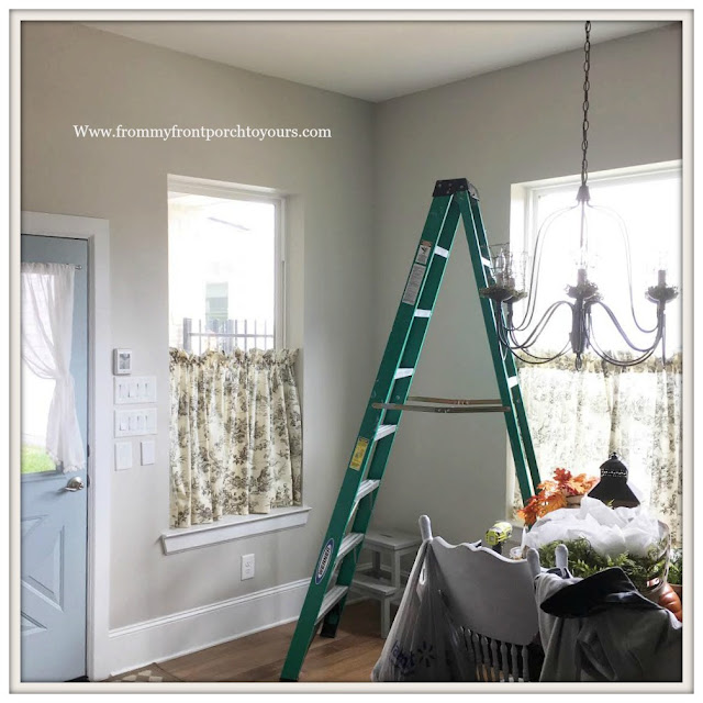 DIY-Sherwin Williams-Agreeable Gray-Paint-From My Front Porch To Yours