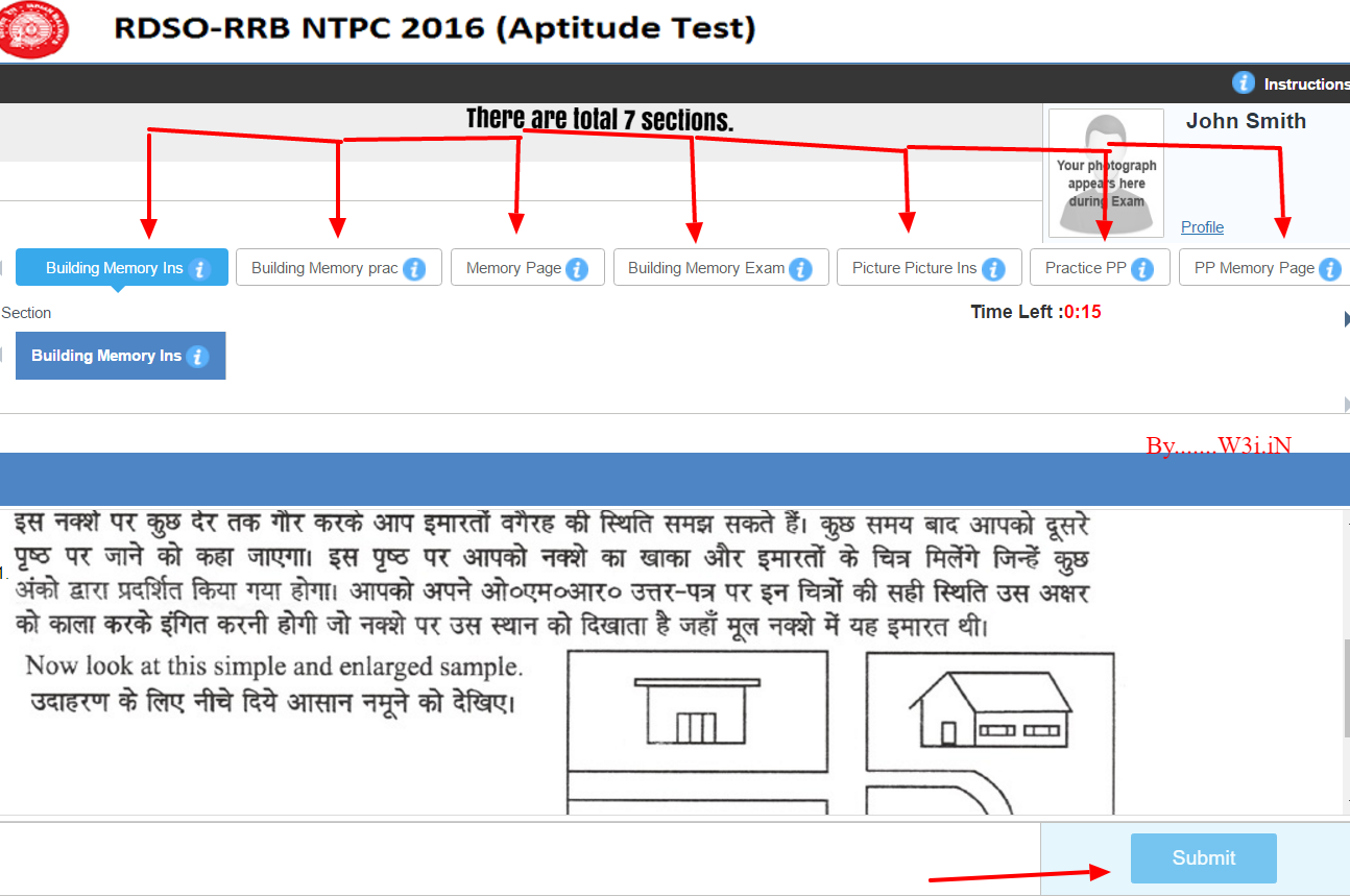 rrb ntpc online aptitude test railway psycho test for asm w3i in rrb online aptitude test railway psycho test rrb online psycho test rrb ntpc