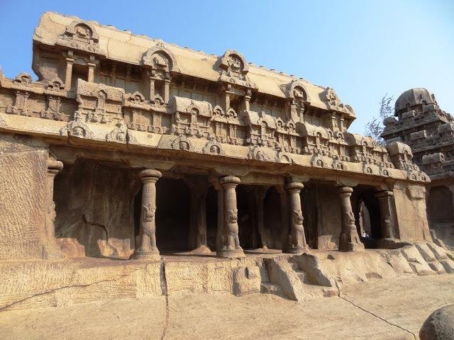 Mahabalipuram Monolithic Stone Chariots - The unfinished Bhima Ratha