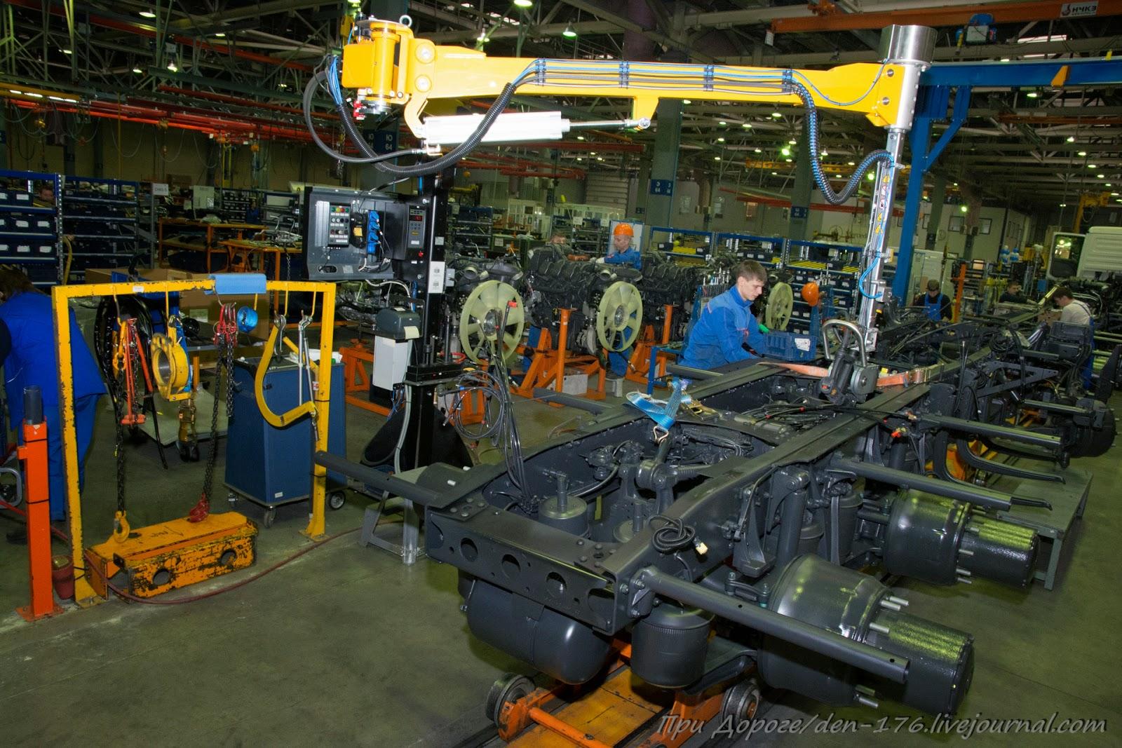 How to make MBTV 28 Mercedes Benz trucks in Naberezhnye Chelny