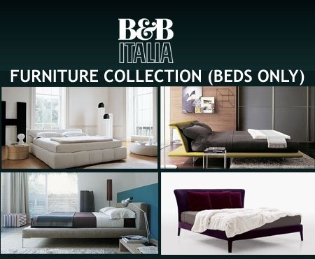 Free 3d objects b and b italia furniture collection beds for B and b italia beds