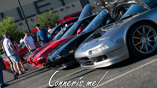 Acura NSX Line-up Front