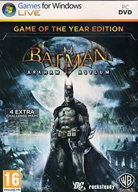 Batman Arkham Asylum GOTY PC [Full] Español [MEGA]