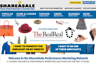 How to make money online at Shareasale