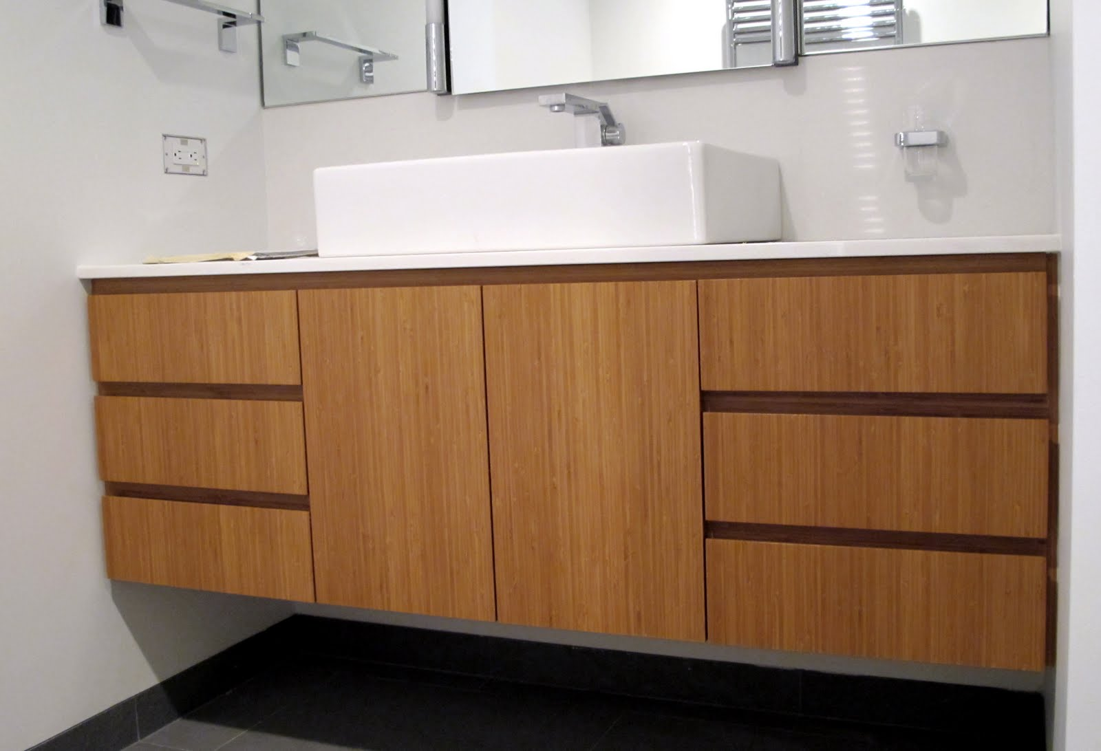 1000+ images about Cabinets - Bamboo Bathroom Vanities on ...
