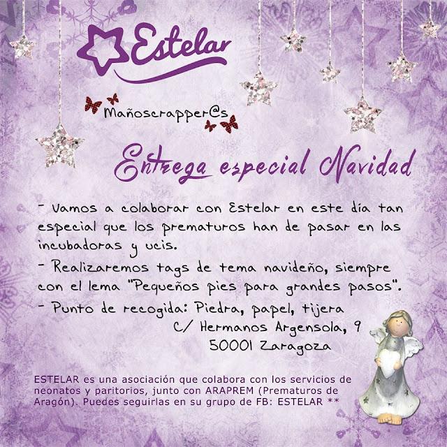 Entrega especial Navidad del grupo de Facebook ESTELAR