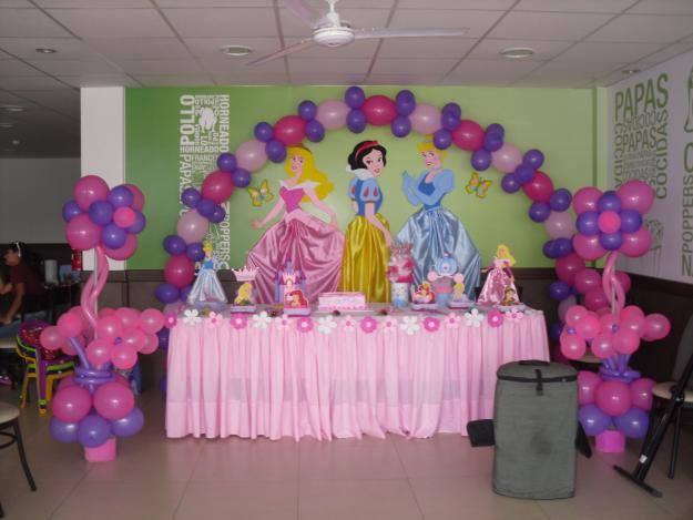 Decoraciones bella cruz decoraciones de princesas for Decoracion de princesas