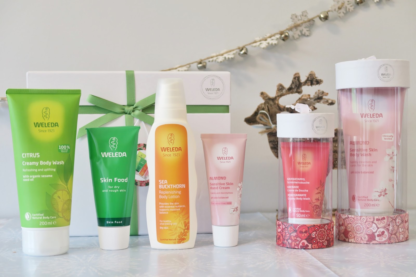 Amber's Beauty Talk Christmas Gift Guides | Weleda Gifts