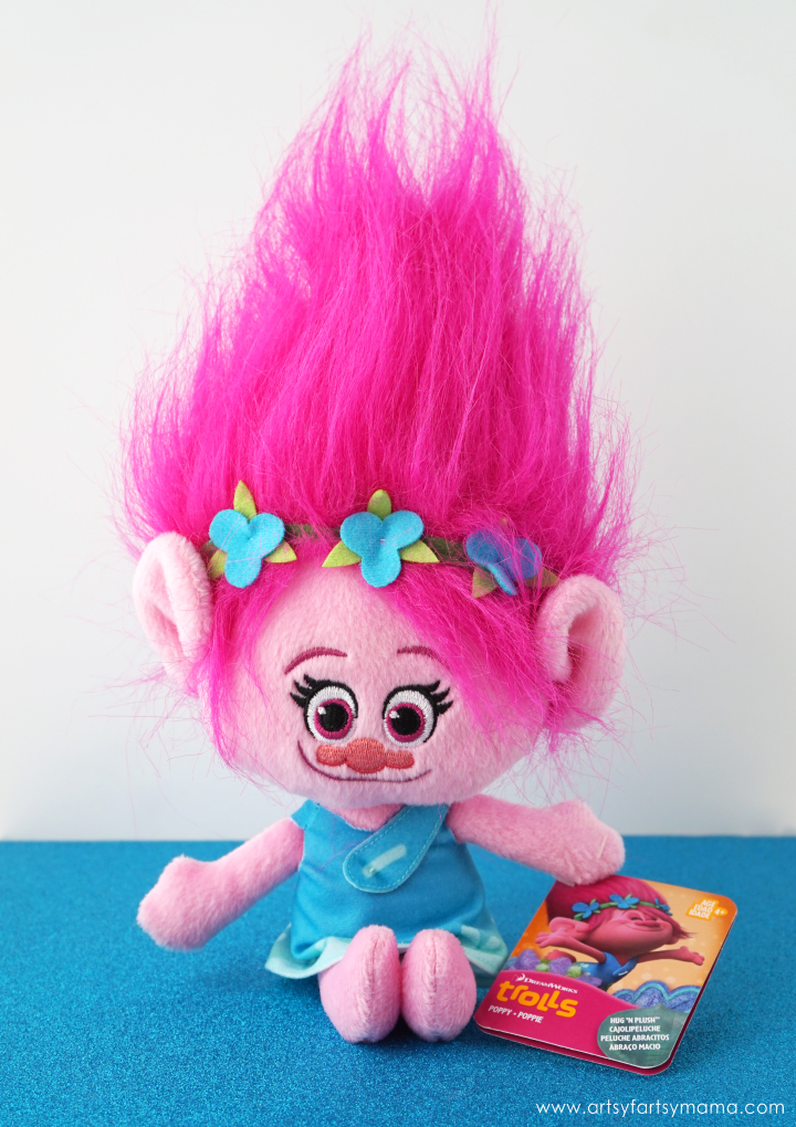 Trolls Gift Guide 2016: DreamWorks Trolls Poppy Hug 'N Plush Doll