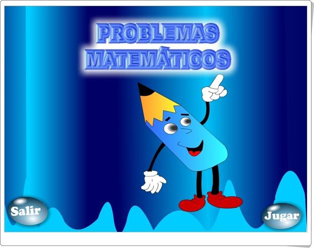 """""""Problemas matemáticos"""" (Juego de Matemáticas de Primaria)"""
