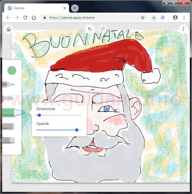 Webapp Google Canvas