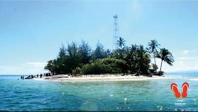 pemandangan pulau tikus bengkulu