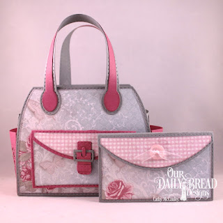 Our Daily Bread Designs Paper Collection: Shabby Rose,  Custom Dies: Timeless Tote, Timeless Tote Layers, Petite Pocketbook