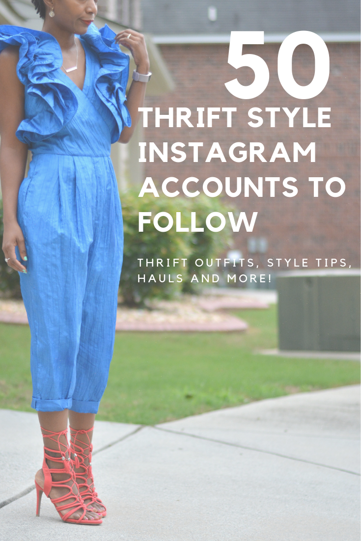 thrift style on instagram