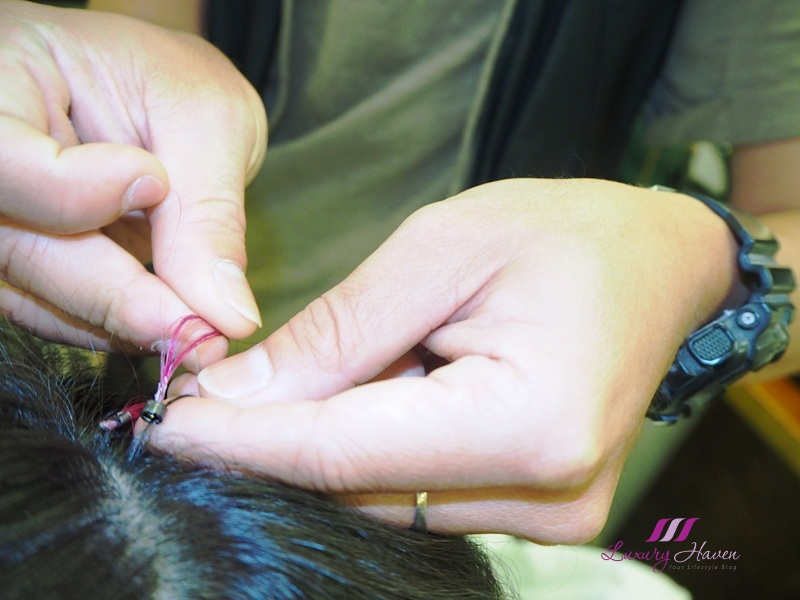 types of hair extensions micro rings