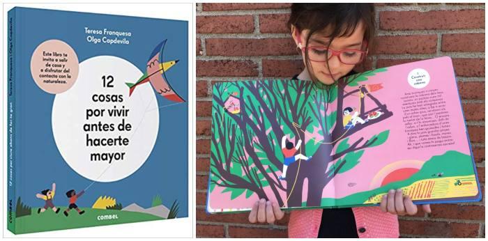libros cuentos infantiles naturaleza, 12 cosas vivir antes hacerse mayor combel