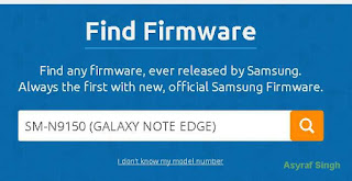 Flash Stock Firmware On Samsung GALAXY NOTE EDGE SM-N915