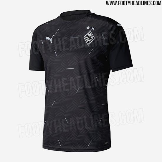 Nueva camiseta visitante Borussia Mönchengladbach