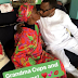 Photo Of Billionaire Femi Otedola Kissing His Mother