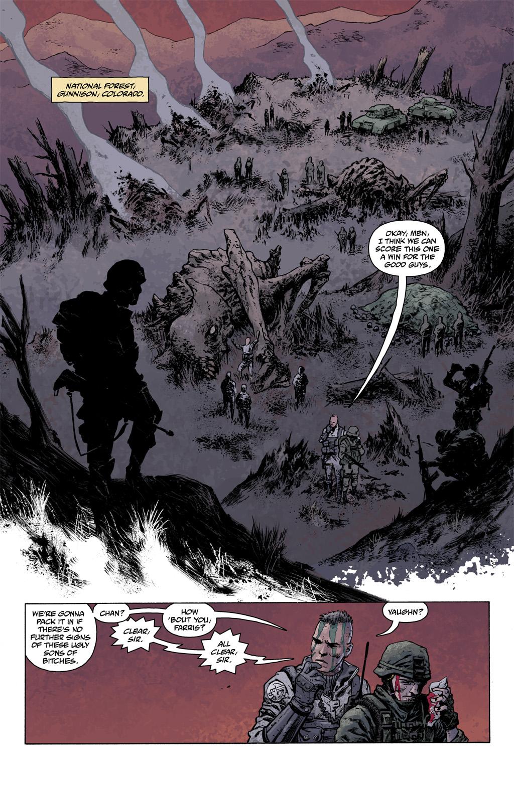 Read online Abe Sapien comic -  Issue #1 - 10