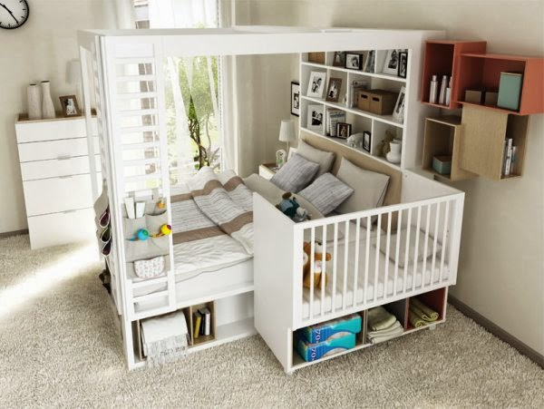 5 Sposobów Na Urządzenie Sypialni Rodziców Niemowlaka