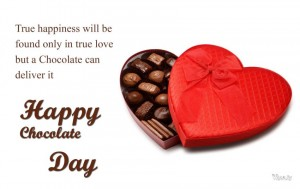 Happy Chocolate Day Message SMS Images
