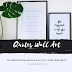 DIY Inspirational Quotes Wall Art (+Free Printables)