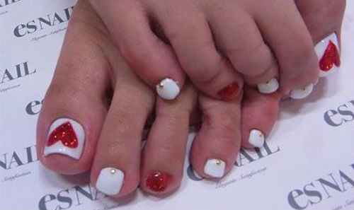 uñas de pies decoradas