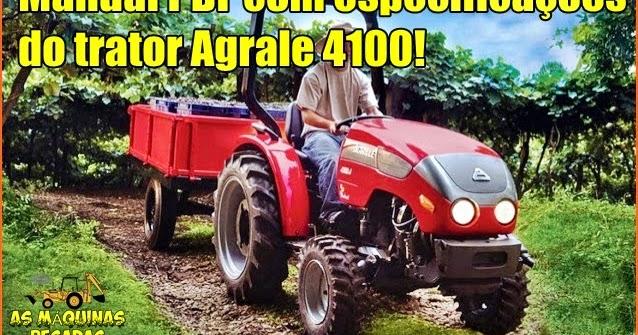 Trator Agrale 4100 Manual