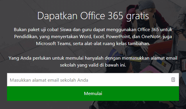 Office 365 Education Gratis Dan Legal