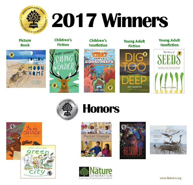 2017 Green Earth Book Award Winners
