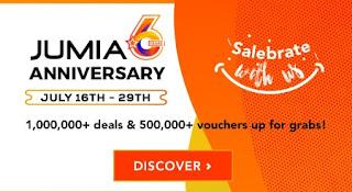 Jumia Anniversary deals 2018