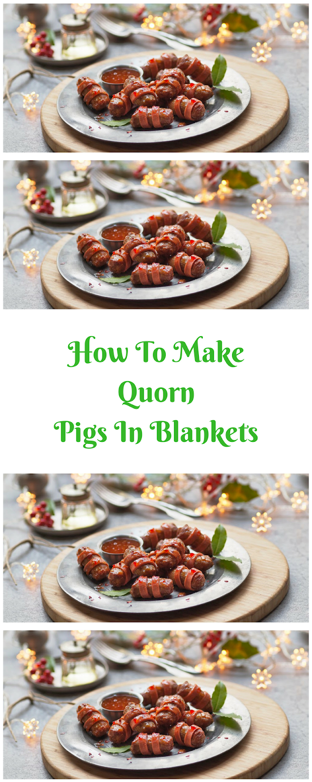 How To Make Quorn Pigs In Blankets
