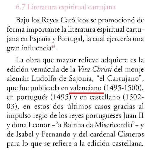 Vita Christi, Ludolfo, Sajonia, Cartujano, Valenciano