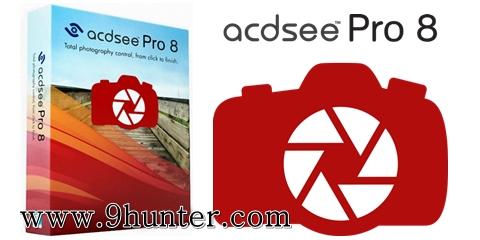 ACDSee Pro 8 (32-64bit) Full โปรแกรมตกแต่งรูปภาพโหลดฟรี
