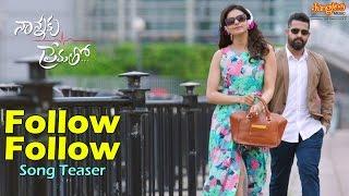 Follow Follow Song Teaser __ Nannaku Prematho _ Jr.NTR _ DSP _ Rakul Preet