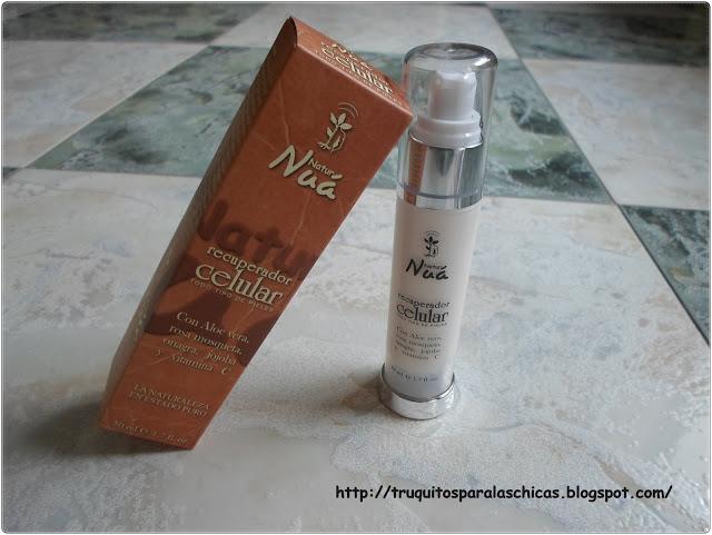 Recuperador celular para todo tipo de pieles natur nua