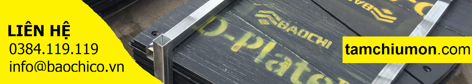 Chi tiết chịu mòn D-Parts từ Công ty TNHH Bảo Chi