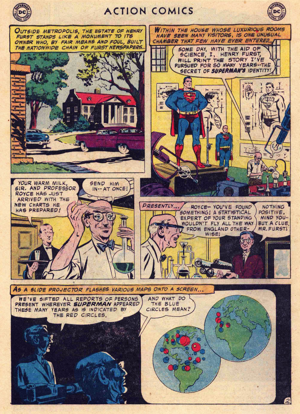 Read online Action Comics (1938) comic -  Issue #237 - 4