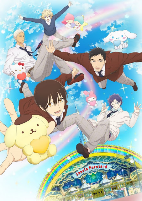 Sanrio Danshi: novo visual e segundo trailer do anime