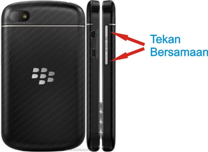 Begini Cara Screenshot Screen Capture Di Blackberry Q10