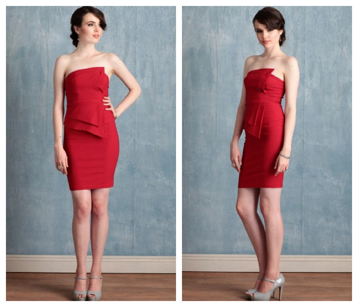 wedding dresses with red in them red dress for wedding Wedding Dresses With Red In Them Image