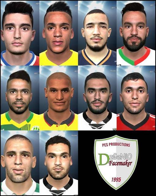 PES 2016 Algeria Big Facepack