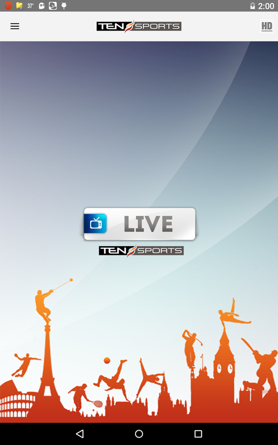 Tensports Live Streaming