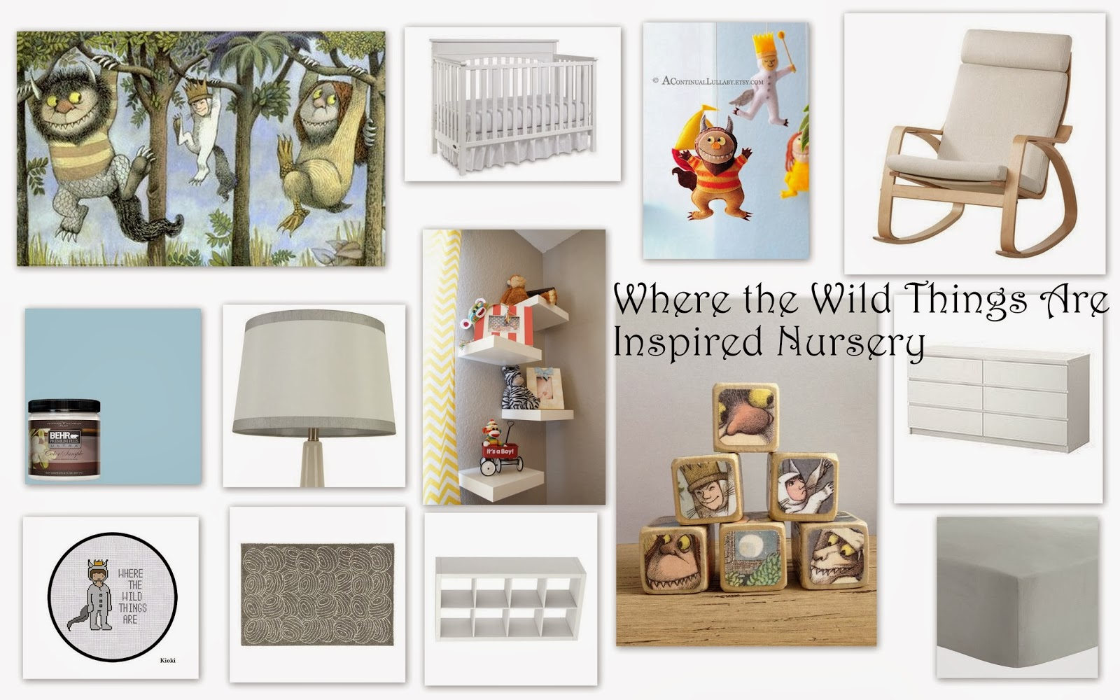Bookishly Boisterous Where The Wild Things Are Inspired