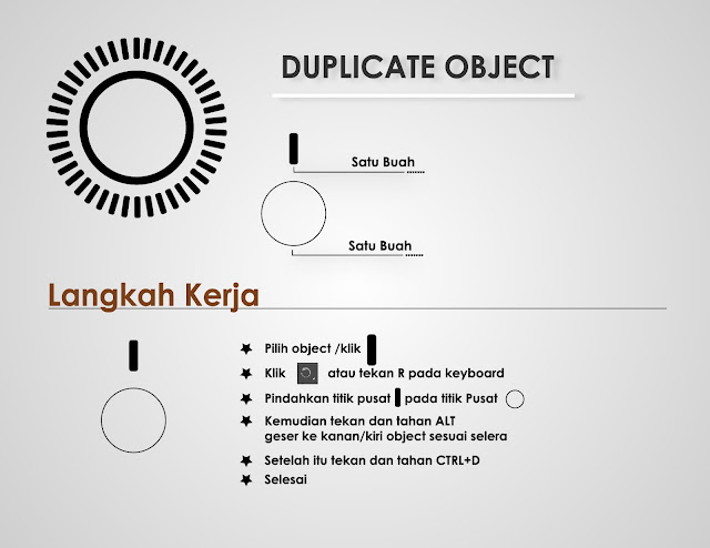 duplicate object